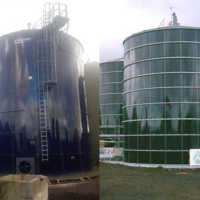 GLS Biogas Tanks at the Azores! / GLS Biogas Tank auf den Azoren!