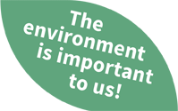 The environment is important to us